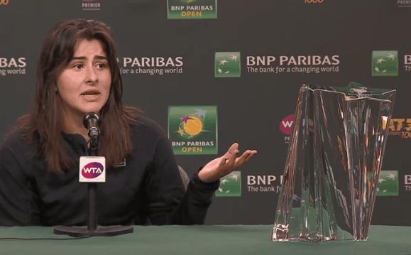 Watch the Bianca Andreescu v Elise Mertens Live Streaming