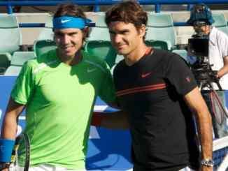 Federer v Nadal in Cape Town