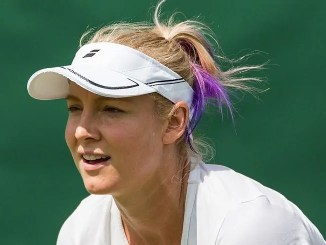 Bethanie Mattek-Sands at Charleston Exhibition