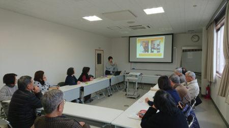 去年12月、堤さんによる「シニア旅のおもてなし講座」を開催