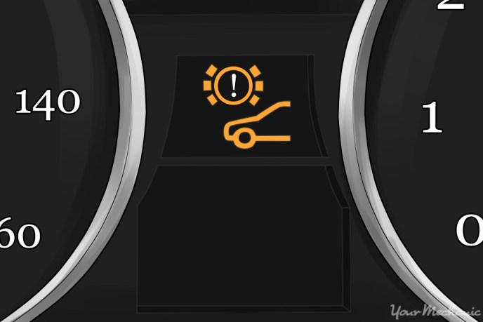 1-Brake Pad Wear Indicator Light