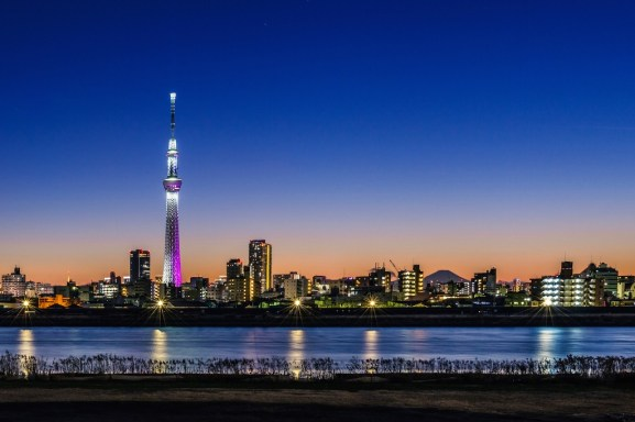 Tokyo Skytree - A Last Sunset In Tokyo 2013