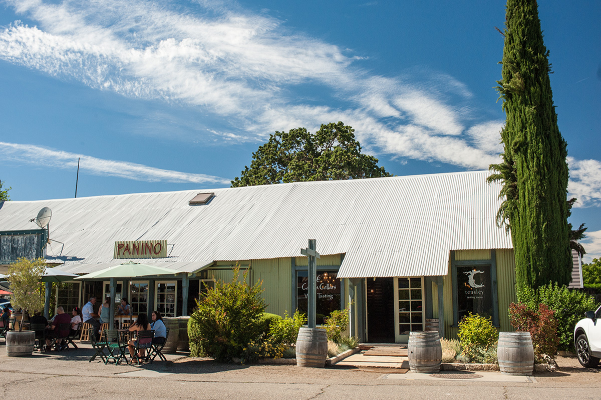 Tensley Wines Tasting Room, Los Olivos, CA