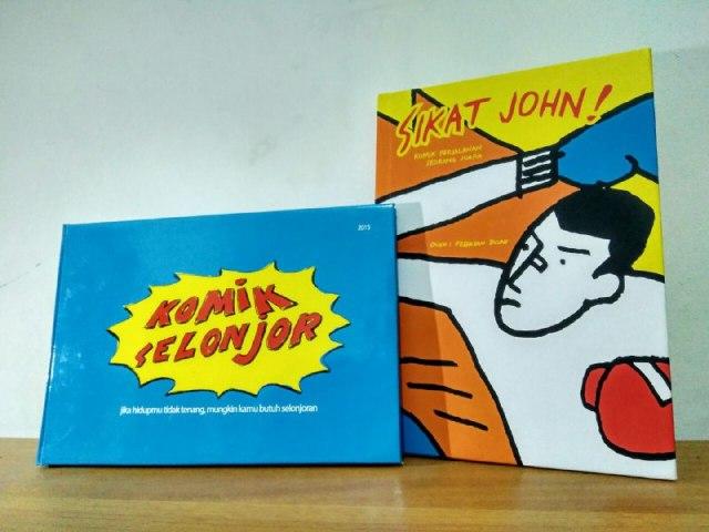 "Cover buku Komik ""Sikat John!, Komik Selonjor"""