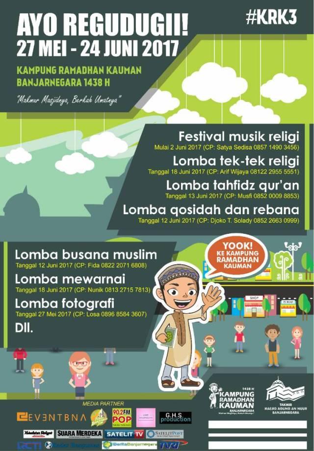 Kampung Ramadhan Kauman Banjarnegara