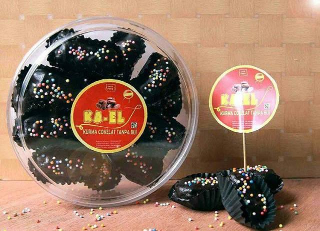 "Foto: Produk lokal Banjarnegara ""Ka-el"" Kurma Cokelat Tanpa Biji (via IG: @kaelkurmacokelat)"