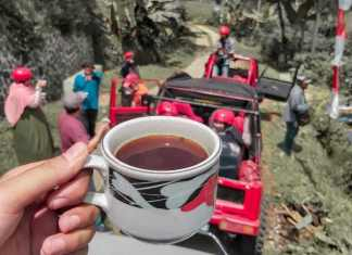 Ngopi On The Jeep