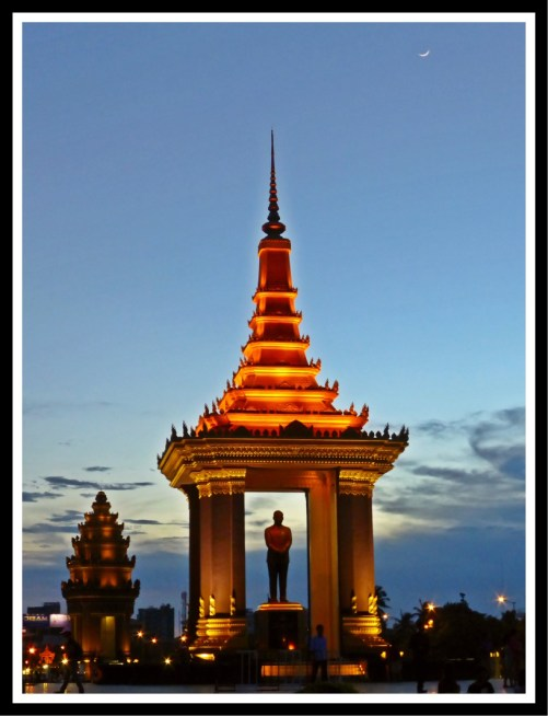 The Monument of Cambodia's Founding Father, Phnom Penh
