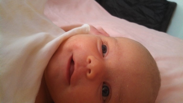 Public assistance saved my family - including this newborn baby