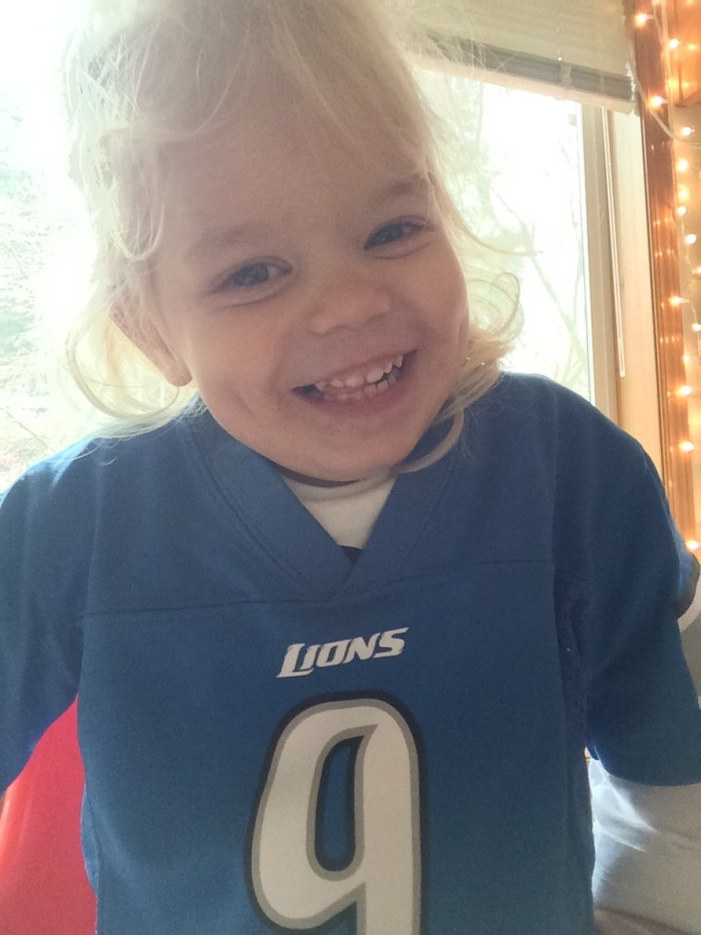 Detroit Lions toddler jersey