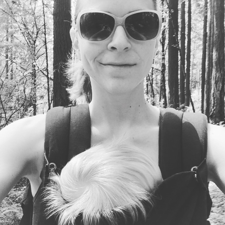 Nap hikes—getting your baby to sleep in the carrier—are a chance to get some alone time. Ten Thousand Hour Mama