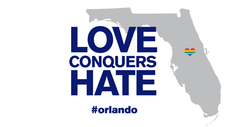 Love Conquers Hate Pulse shooting