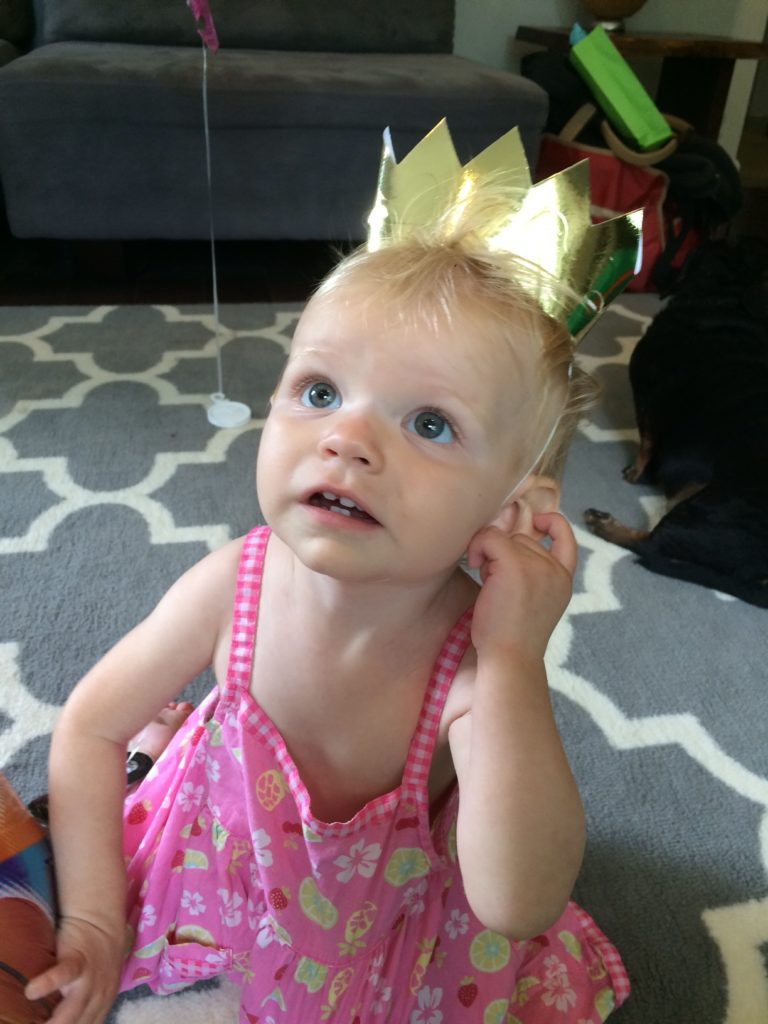 This toddler is the queen of my heart. Ten Thousand Hour Mama