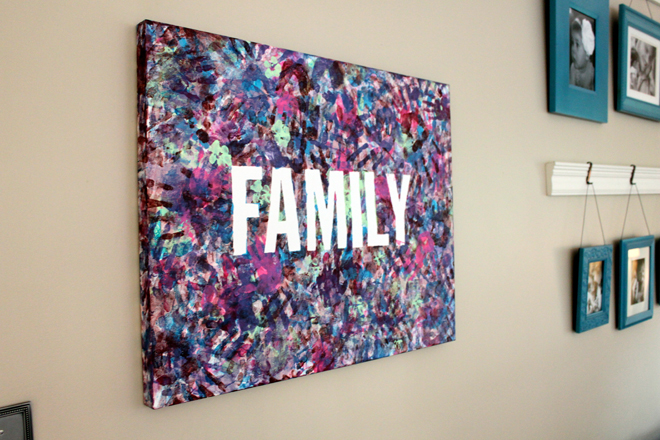10 family friendly handprint crafts // wall art and home decor // Ten Thousand Hour Mama