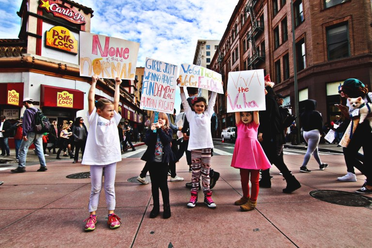 Activism for the whole family: Make protest signs with kids - Ten Thousand Hour Mama