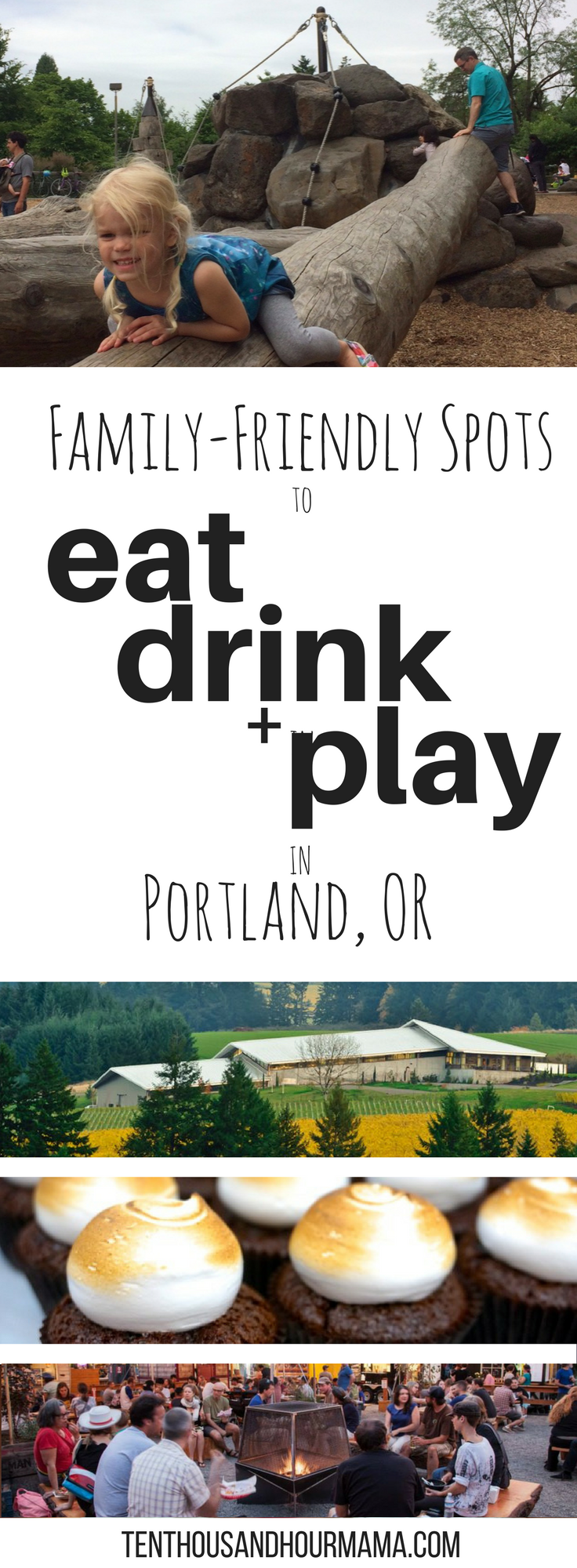 Blogger recommendations for the best restaurants + kid activities in Portland, Oregon! family-friendly travel // Ten Thousand Hour Mama