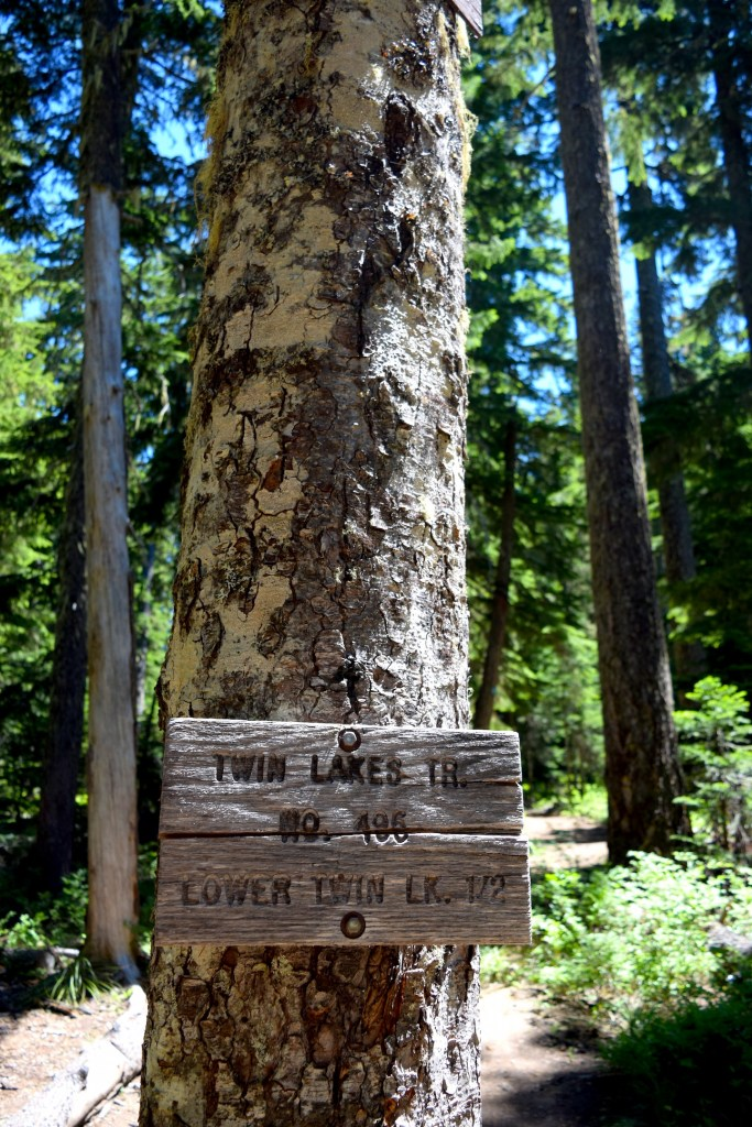 The hike to Twin Lakes on Mt. Hood is only an hour and a half outside Portland, Oregon. Ten Thousand Hour Mama