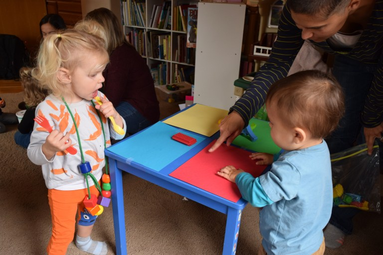 Homeschool preschool activities - and a schedule and structure - make it fun to teach toddlers! Ten Thousand Hour Mama