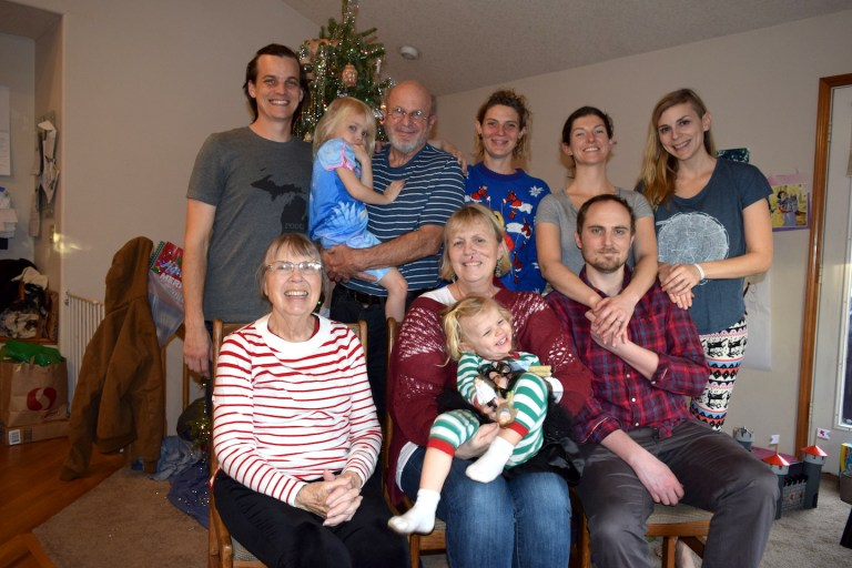 4 generations Christmas