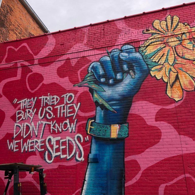 Inspiring street art from Detroit - Ten Thousand Hour Mama