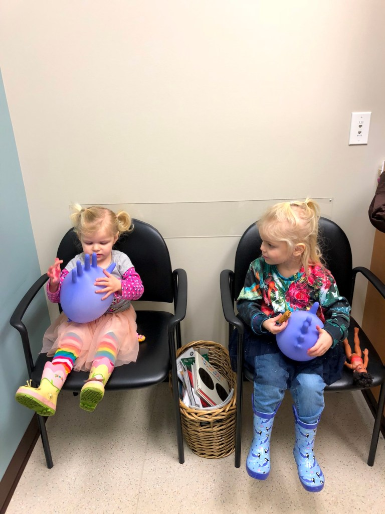 How to entertain kids and keep them busy at the doctor's office - Ten Thousand Hour Mama
