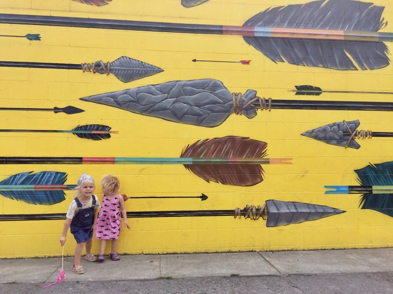 Portland murals with kids: exploring street art in Oregon as a family - Ten Thousand Hour Mama