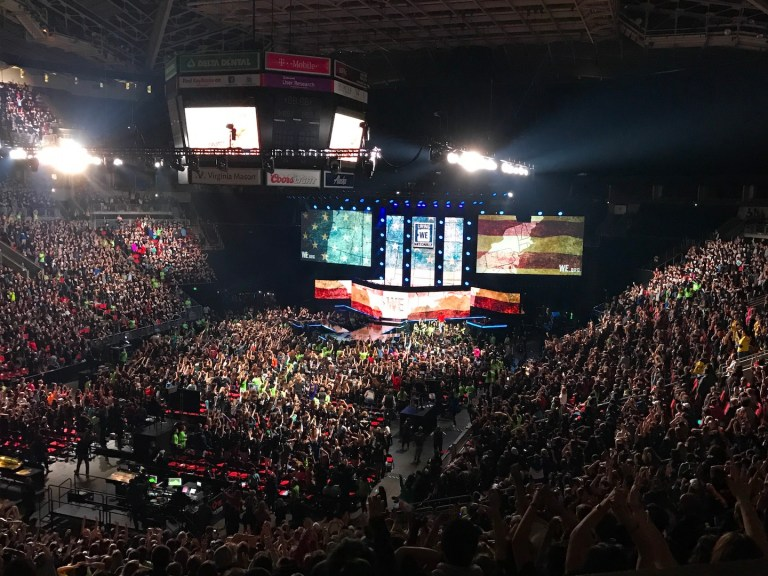 WE Day Seattle - Ten Thousand Hour Mama