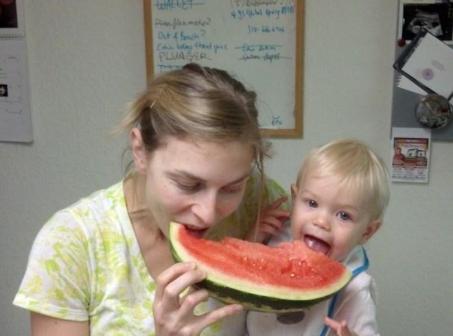 Ten Thousand Hour Mama - watermelon
