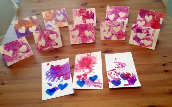 Toddler Valentine's Day cards 4