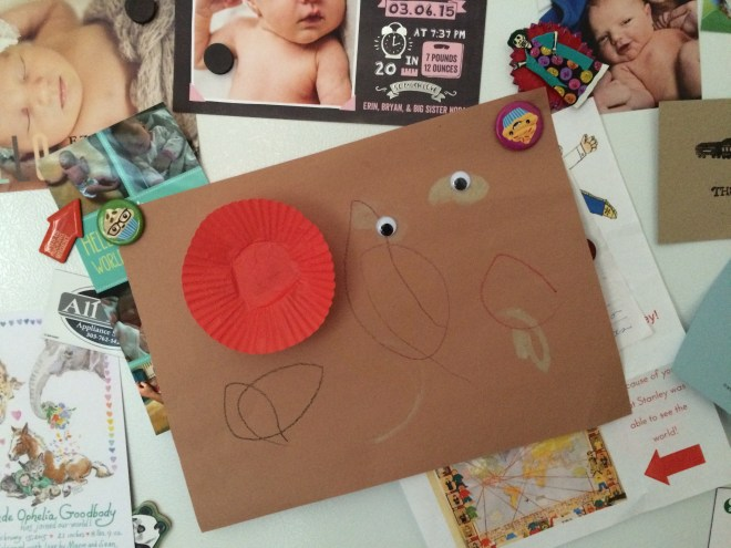 Toddler process art