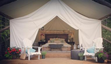 2017 tent and decore