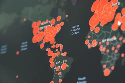 世界中でパンデミック 新型コロナウイルス
