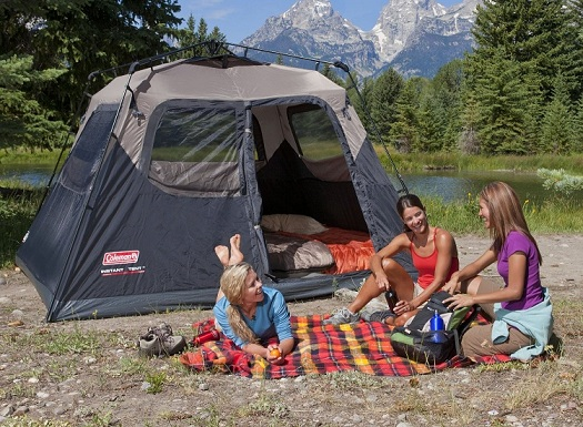 Coleman Family Tents & Coleman Hampton Family Tent Review | Family Camping Tents