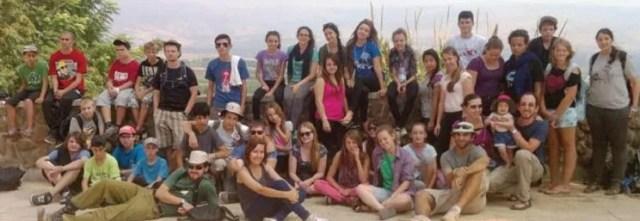 All together at Tel Hai