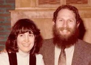 Katya and Moshe in 1983