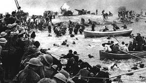 Dunkirk rescue with small boats