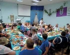 Congregational meal
