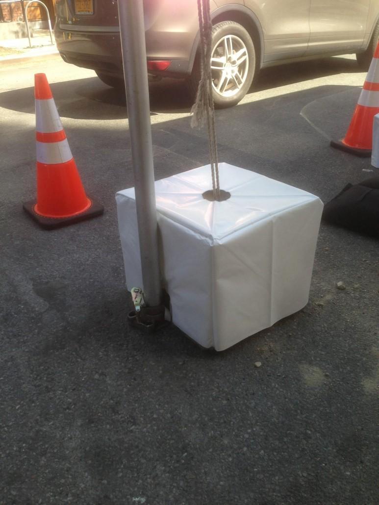 Tent Ballast System Tentwares Cement Blocks