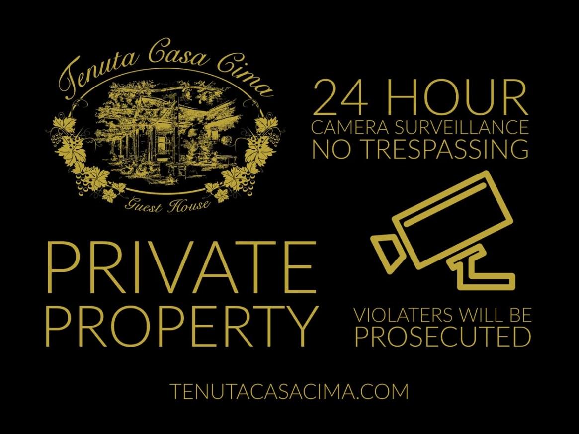 Private Property Tenuta Casa Cima