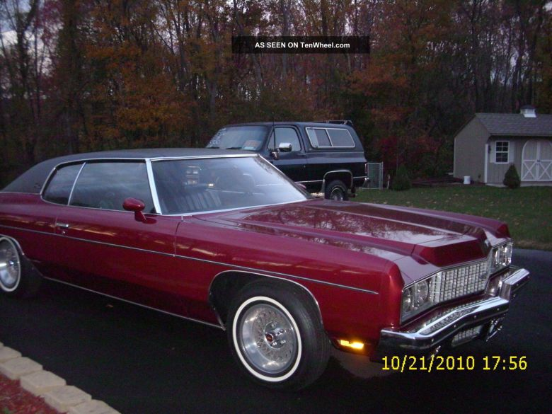 Image result for 1973 chevy impala maroon with black top