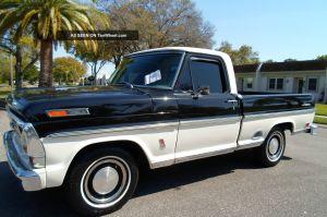 1969 Ford Ranger Pickup Pick Up Truck Big Block F100 F150 F250 F350