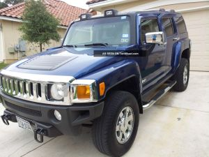 2006 Hummer H3 Luxury Package 4wd