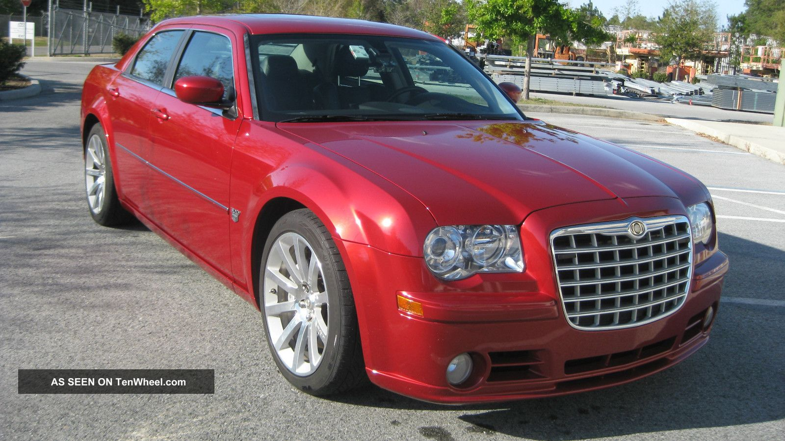 2013 Black Chrysler Interior 300 Srt8 Red
