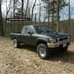 1992 Toyota Pickup Dlx Extended Cab Pickup 2 Door 3 0l