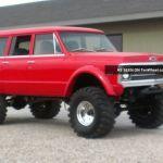 Radical Custom 1970 3 Door Chevy Suburban 4x4
