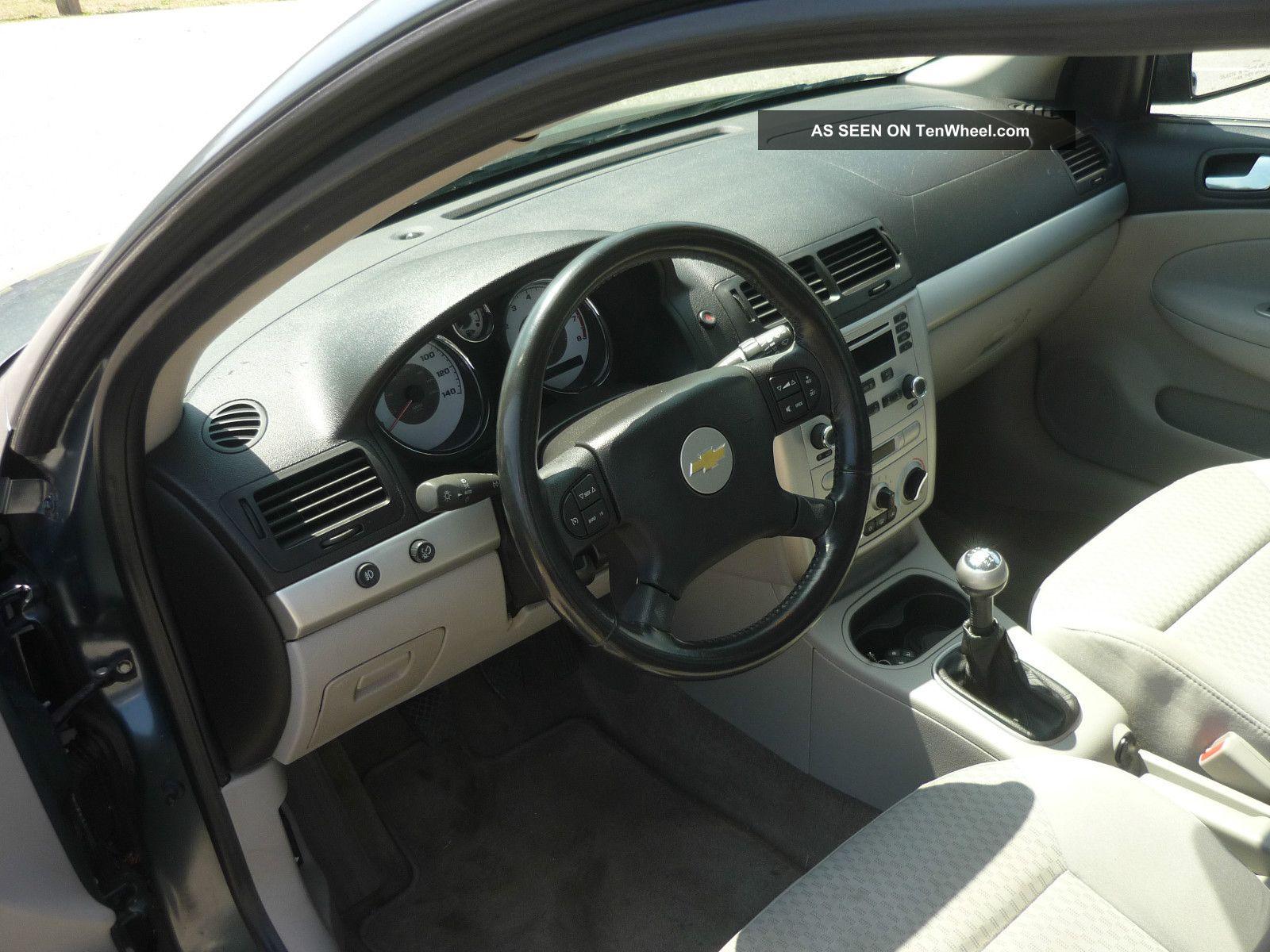 2005 Chevrolet Cobalt Ls 5 Speed Recovered Theft