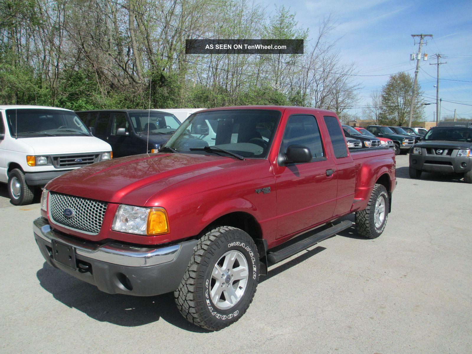 Wheel Xlt Ranger 2002 Ford Drive 4
