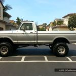 1976 Ford F250 4x4 Beast 6 Inch Lift 360 V8 Automatic 4 Bbl Carb Highboy 4wd 76