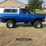 1984 Chevrolet K5 2dr 4wd Blazer Fresh Paint Lifted Reliable