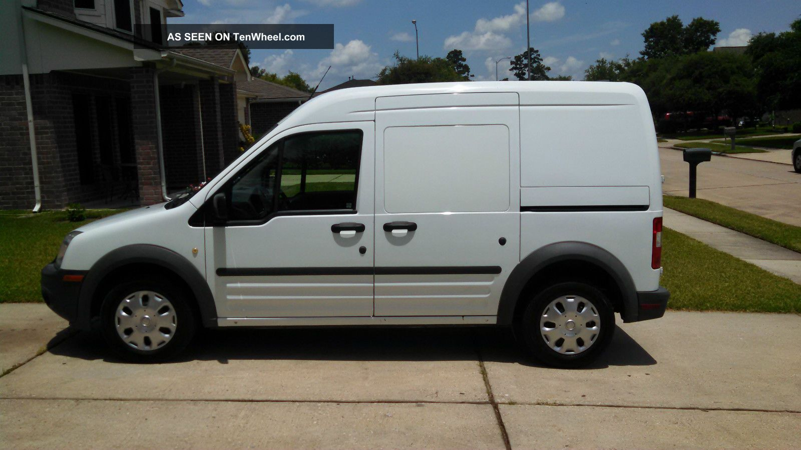 2012 Ford Transit Connect Xl Mini Cargo Van 4 Door 2 0l